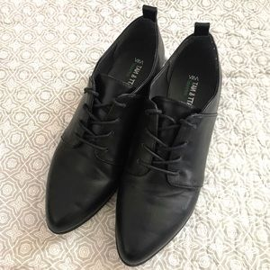 Matt & Nat Black Vegan Leather Shoes
